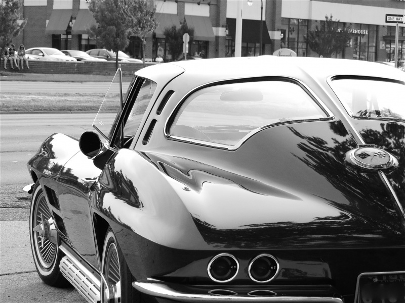 ������� Chevrolet Corvette 1963 �. �������� Coupe Sting Ray.