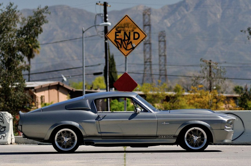 ������� �� ���� Ford Shelby Mustang GT500 Eleanor 1967 ����.